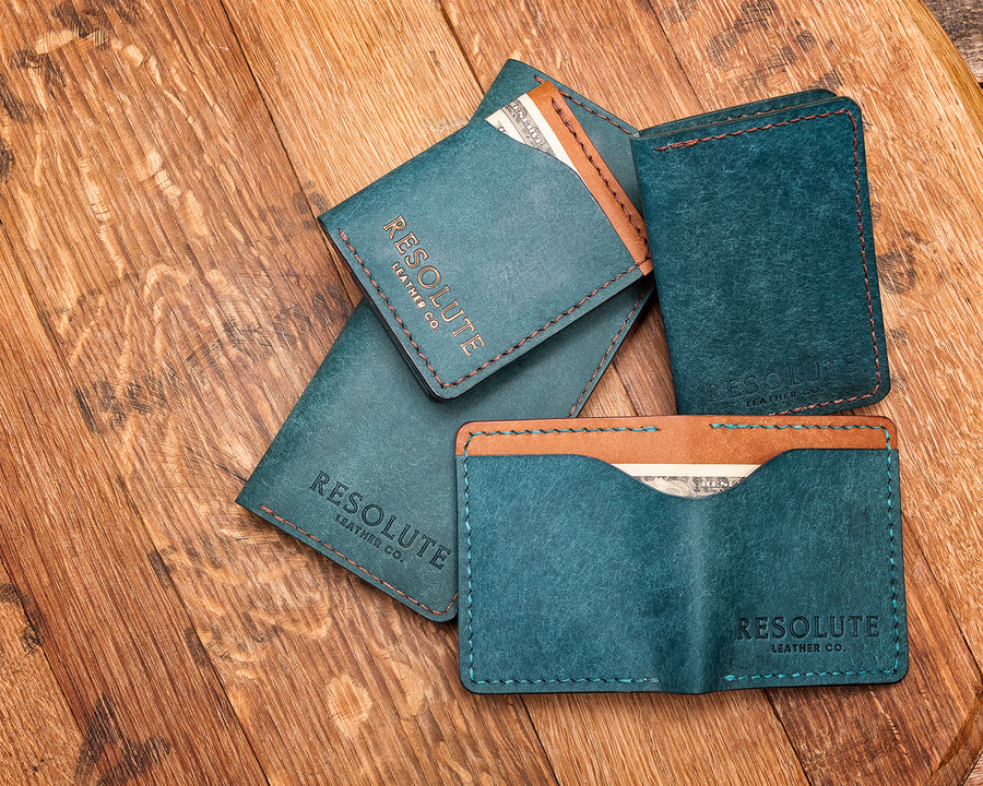 Collection of Ortensia  Handmade Wallets