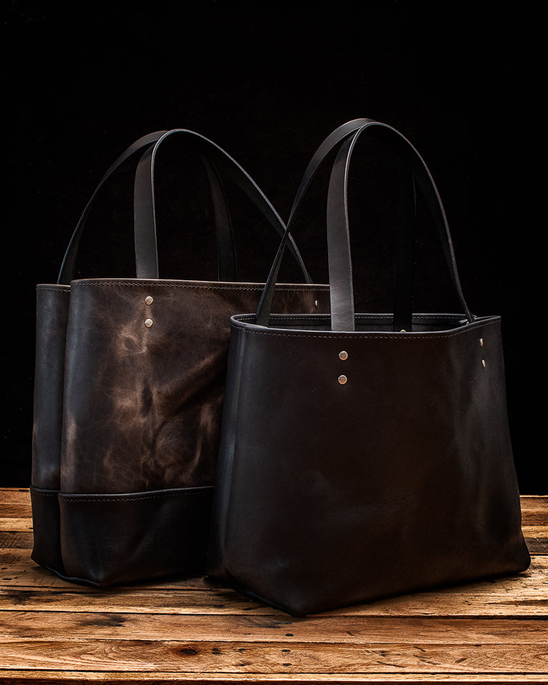 Chadwick and Lola Leather Tote bags