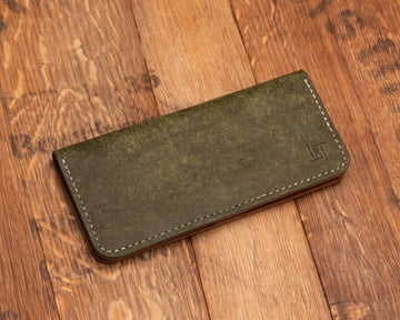 Long Wallet | Olive & Buck Brown