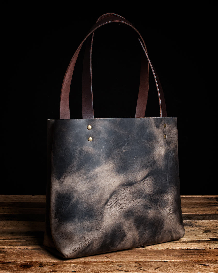 The Madison Leather Tote Bag | Wilde Moon