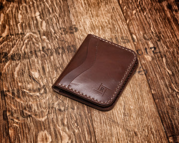 Duke St Leather 8 pocket Card Wallet | Medium Brown