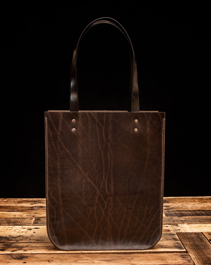 The Maxwell Leather Tote Bag | Wilde Moon