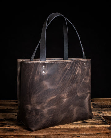 Lola Leather Tote | Wilde Moon