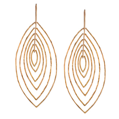 Neil Lane Couture 14K Yellow Gold Earrings
