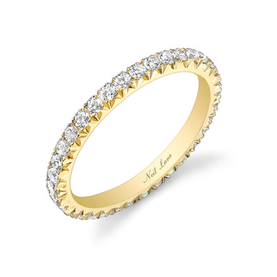 Diamond, 18k Yellow Gold Eternity Band