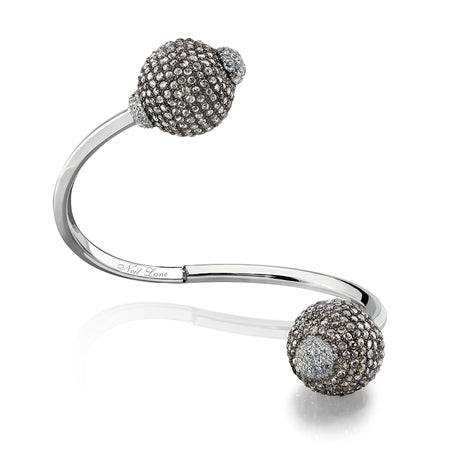 Diamond Pave Ball Bracelet