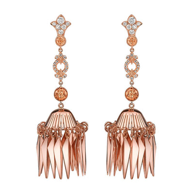 NEIL LANE DIAMOND, 18K ROSE GOLD EARRINGS