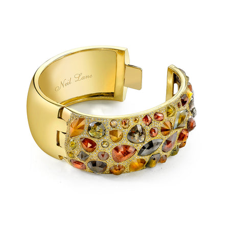 Fancy Colored Diamond Cuff