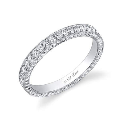 3-Sided Diamond Band