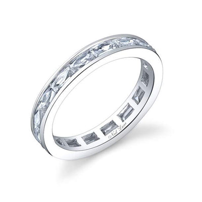 Diamond, Platinum Eternity Band