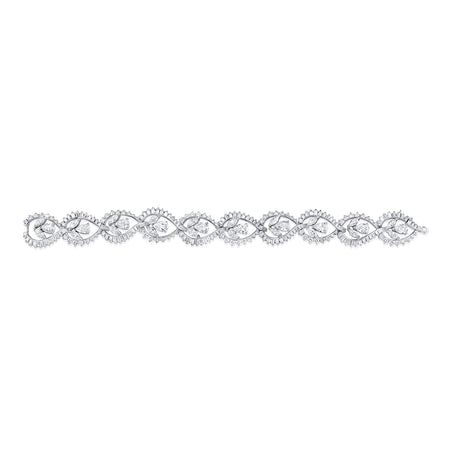 Pear Shape Diamond Bracelet
