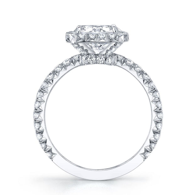 ROUND DIAMOND, PLATINUM ENGAGEMENT RING
