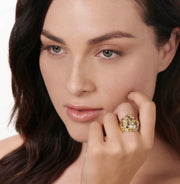 Neil Lane Couture Colorful Diamond, Yellow Gold Ring