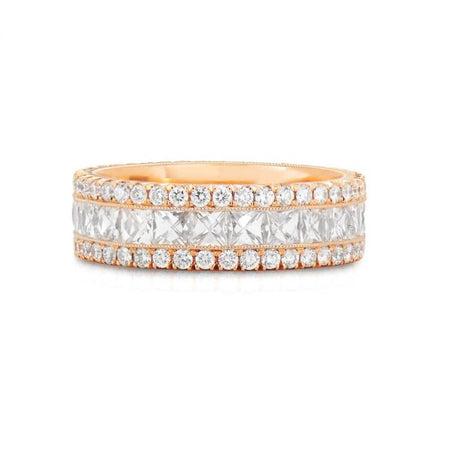 Neil Lane Couture Diamond, 18K Rose Gold Eternity Band