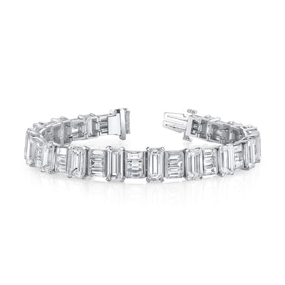 Interchanging Diamond Bracelets