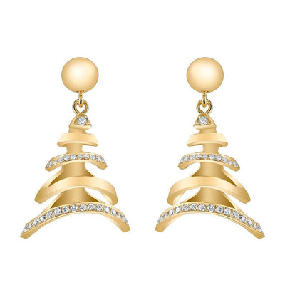 Neil Lane Couture Diamond, 14K Yellow Gold Earrings