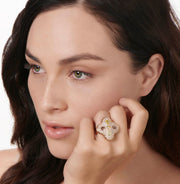 Neil Lane Couture Fancy Color Diamond, 18K Rose Gold Ring