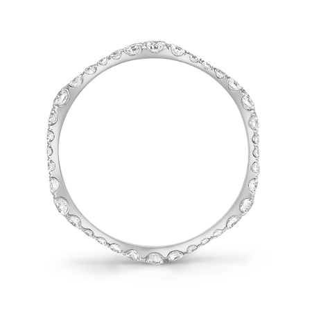 NEIL LANE DIAMOND, PLATINUM ETERNITY BAND