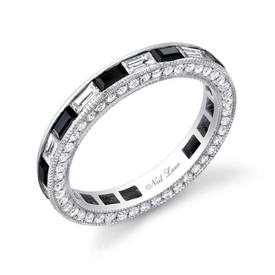 Neil Lane Couture Onyx & Diamond Band