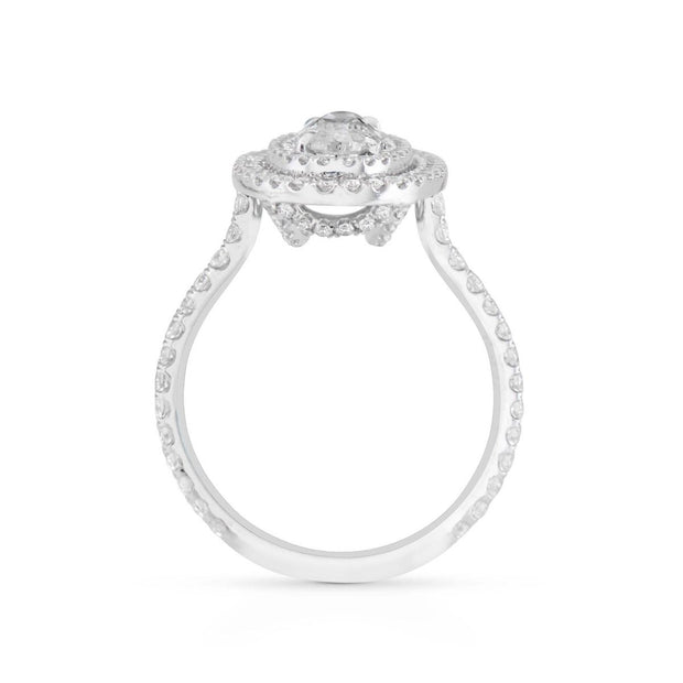 NEIL LANE DIAMOND PLATINUM ENGAGEMENT RING
