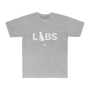 White LABS Logo Men's Surf Tee