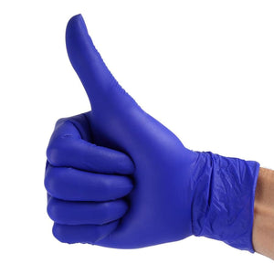 5- Pair Latex & Powder Free Disposable Rubber Gloves - Safety