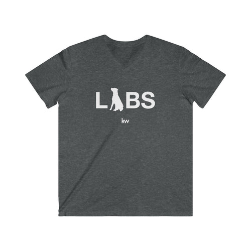 LABS Men's Fitted V-Neck Short Sleeve Tee