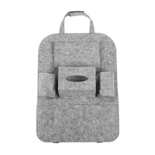 Back Seat Organizer - Grey - Storage