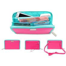 Cell Phone Wallet & Travel Organizer - Pink - Wallets