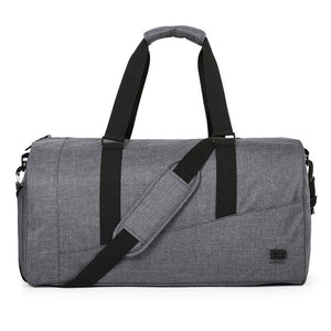 Classic Travel Luggage Bag - Grey - Bags