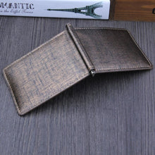 Clipped Bifold Business Wallet - Wallets