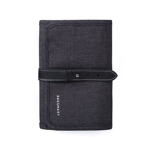 Compact Electronics Accessory Travel Organizer - Black - Bags
