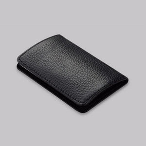 Credit Card & Business Card Case - Black - Wallets