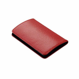 Credit Card & Business Card Case - Red - Wallets