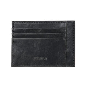 Credit Card & Cash Bifold Wallet - Black - Wallets