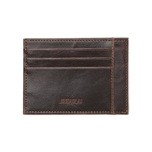 Credit Card & Cash Bifold Wallet - Coffee - Wallets