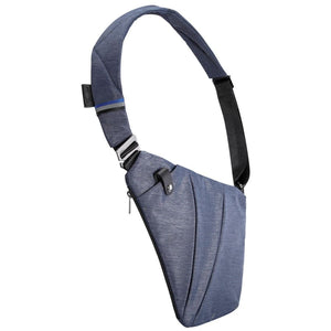 Crossbody Designer Sling Bag - right-handed / Jazz Blue - Bags