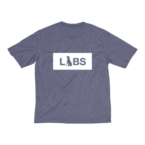 White Block LABS Men's Dri-Fit Tee