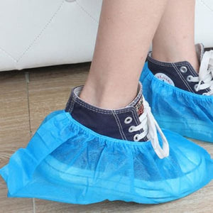Disposable Slip-on Shoe Covers - Safety