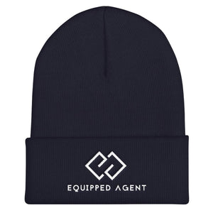 EA Cuffed Equipped Agent Beanie - Navy