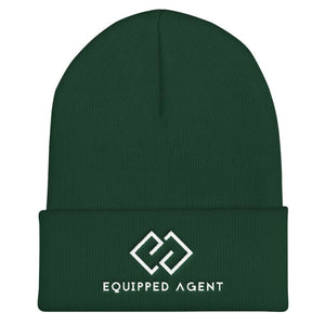 EA Cuffed Equipped Agent Beanie - Spruce