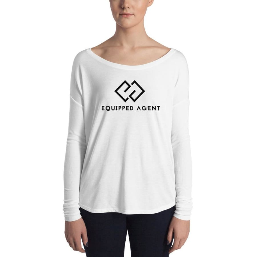EA Ladies Long Sleeve Tee - S