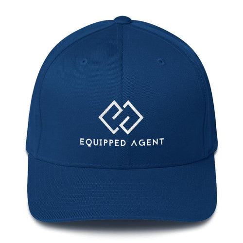 EA Structured Twill Cap - Royal Blue / S/M