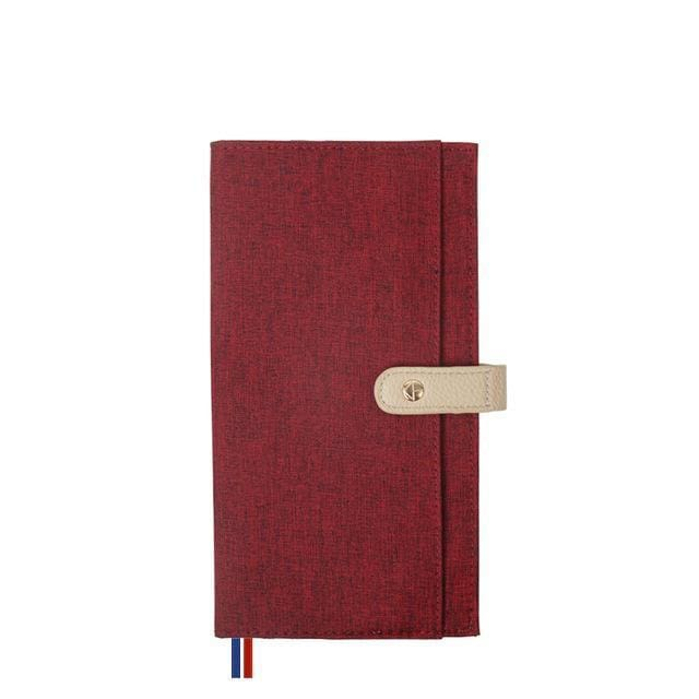 Fashionable Retro Notebook - DTC0002 Red - Books