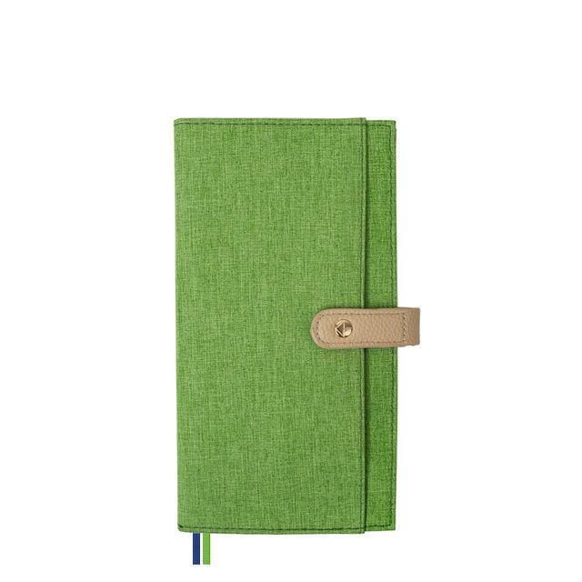 Fashionable Retro Notebook - DTC0003 Green - Books