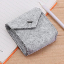 Felt Earbud & Charger Storage Pouch - Storage