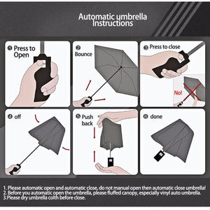 Fully-Automatic Business Folding Umbrella