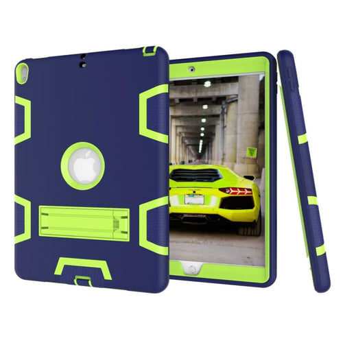 Heavy Duty Shockproof Hard Case for Apple iPad - Technology
