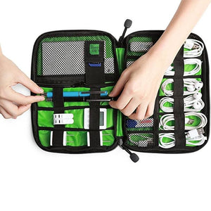 High Grade Nylon Waterproof Electronics Organizer - Bags