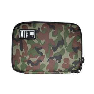 High Grade Nylon Waterproof Electronics Organizer - Camouflage green1 - Bags